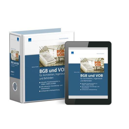 BGB und VOB für Architekten, Ingenieure und Behörden - Premium