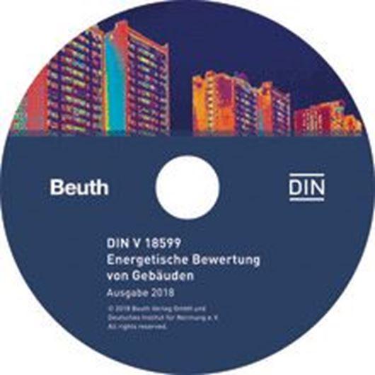 DIN V 18599 - Energetische Bewertung von Gebäuden CD-ROM