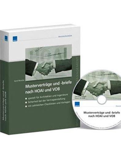 Musterverträge und -briefe nach HOAI 2013 und VOB CD-ROM