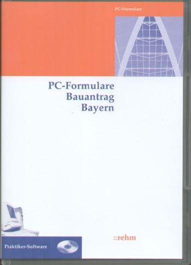 PC-Formulare Bauantrag Bayern CD