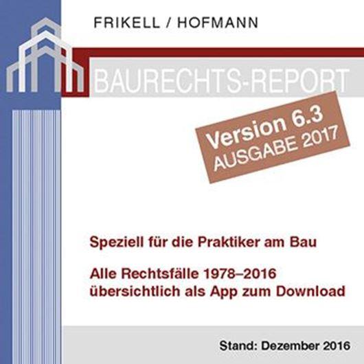 Baurechts-Report Vers. 6.3 Ausgabe 2017 - App