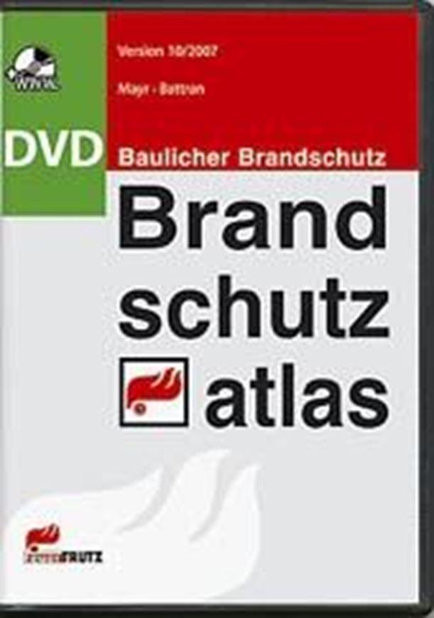 Brandschutzatlas auf DVD