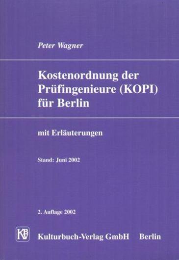 Kostenordnung der Prüfingenieure (KOPI) für Berlin