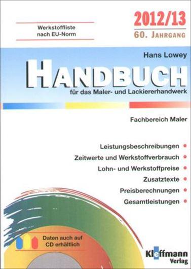 Handbuch für das Maler- und Lackiererhandwerk 2012/13