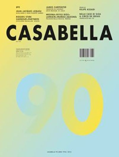 Casabella 892: Felipe Assadi