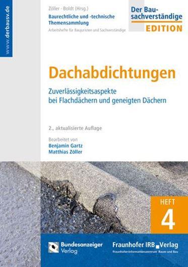 Baurechtliche und -technische Themensammlung-Heft 4: Dachabdichtung