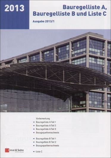 Bauregelliste A, B und Liste C, Ausgabe 2013/01
