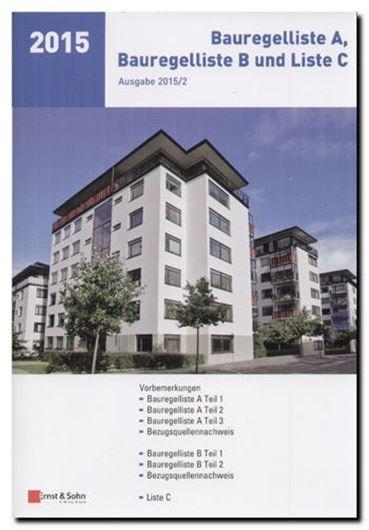 Bauregelliste A, B und Liste C, Ausgabe 2015/02