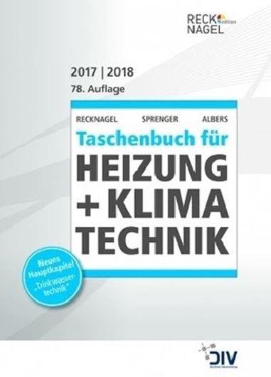 Recknagel - Taschenbuch für Heizung + Klimatechnik 2017/2018 , m. CD-ROM, 2 Bde.