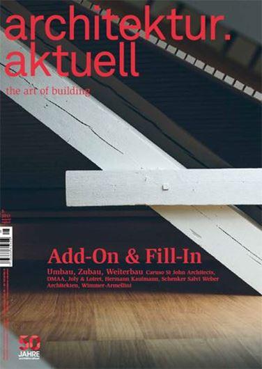 Architektur aktuell 446: Add-On & Fill-In