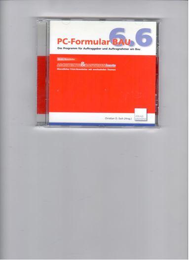 PC-Formular Bau CD-ROM Version 6.6