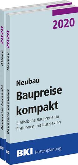 BKI Baupreise kompakt 2020 - Neubau + Altbau - Gesamtpaket