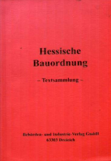 Hessische Bauordnung - Stand Februar 2000