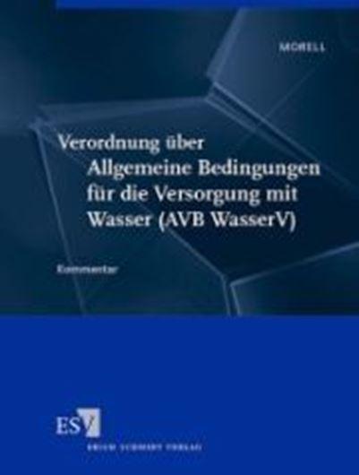 Verordnung über Allgemeine Bedingungen für die Versorgung mi t Wasser (AVB WasserV)