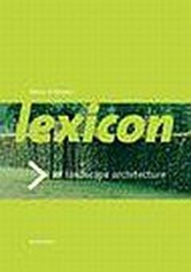 Lexicon of Garden and Landscape Architecture