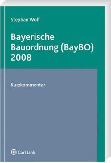 Bayerische Bauordnung (BayBO) 2008