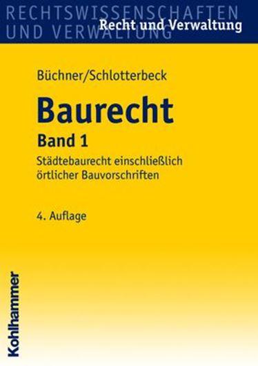 Baurecht - Band 1