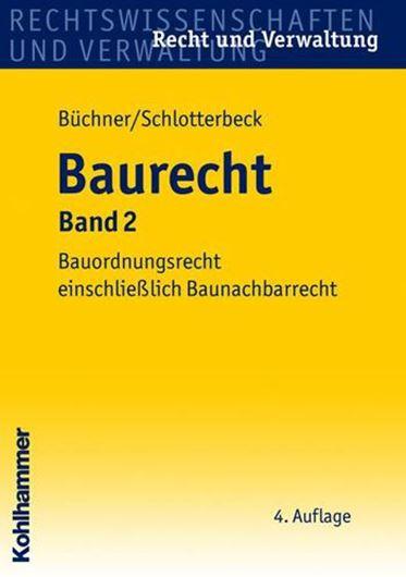 Baurecht, Band 2