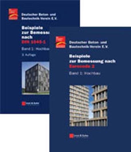 Beispiele zur Bemessung nach DIN 1045-1: Band 1 Hochbau + Be ispiele zur Bemessung nach Eurocode 2: Band 1 Hochbau