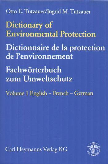 Dictonary of Environmental Protection