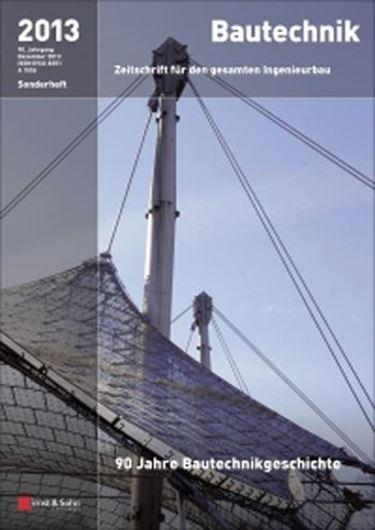Bautechnik - Sonderheft 2013