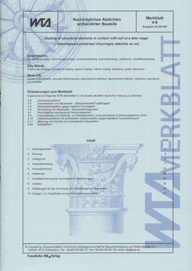 WTA Merkblatt 4-6-14/D
