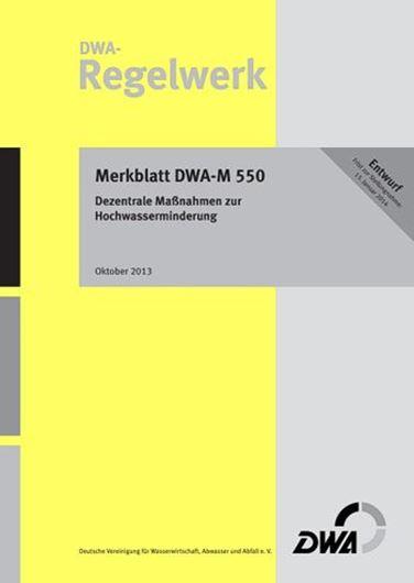 Merkblatt DWA-M 550 (Entwurf)
