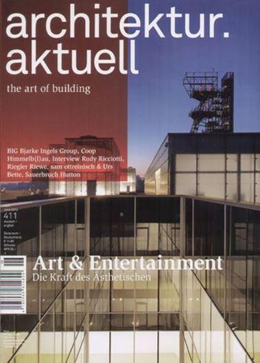 Architektur aktuell 411: Art & Entertainment