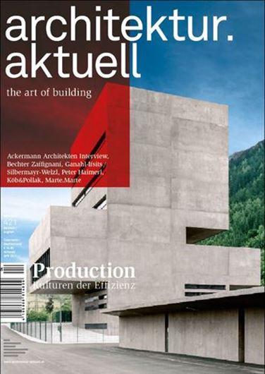 Architektur aktuell 421: Production