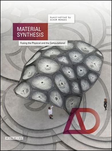 Architectural Design 237: Material Synthesis