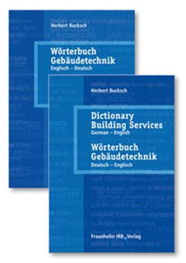 Wörterbuch Gebäudetechnik in 2 Bänden
