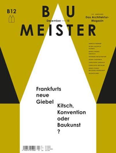 Baumeister 12/2015: Frankfurts neue Giebel