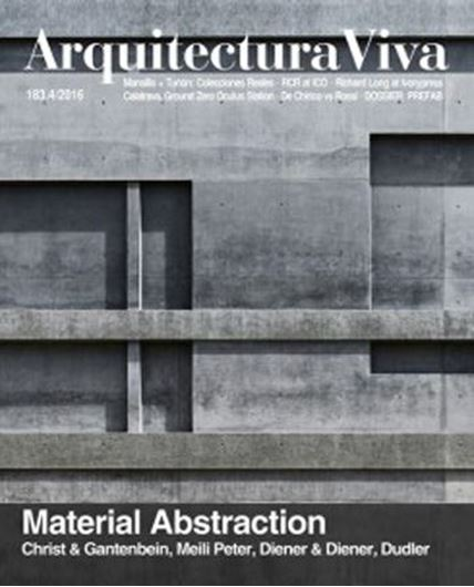 Arquitectura Viva 183: Material Abstraction