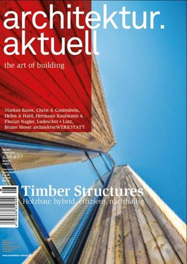 Architektur aktuell 436-437/2016: Timber Structure