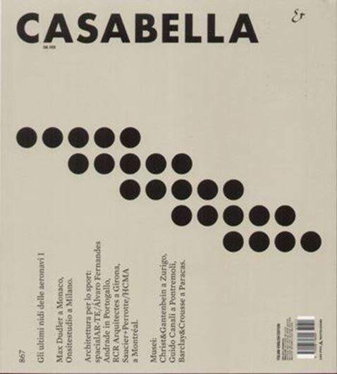 Casabella 867: Architettura per lo sport / Musei
