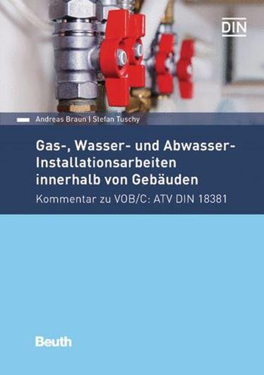 Gas-, Wasser- und Abwasser-Installationsarbeiten innerhalb von Gebäuden