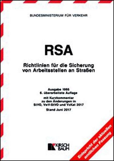 RSA - Richtlinien für die Sicherung von Arbeitsstellen an St raßen