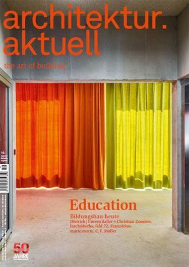 Architektur aktuell 451: Education