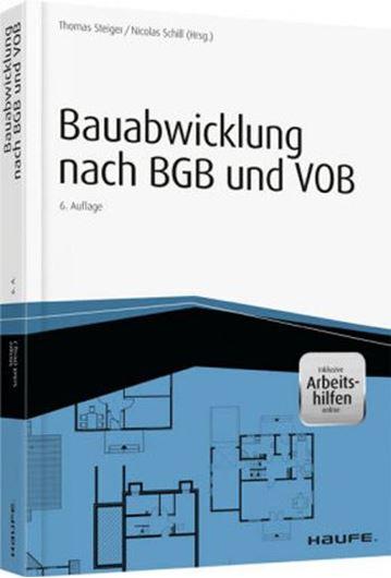 Bauabwicklung nach BGB und VOB mit Arbeitshilfen online