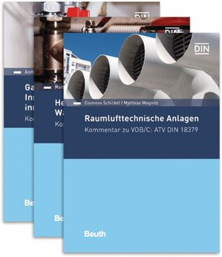 VOB/C Kommentare ATV DIN 18379, 18380, 18381, 3 Bde.