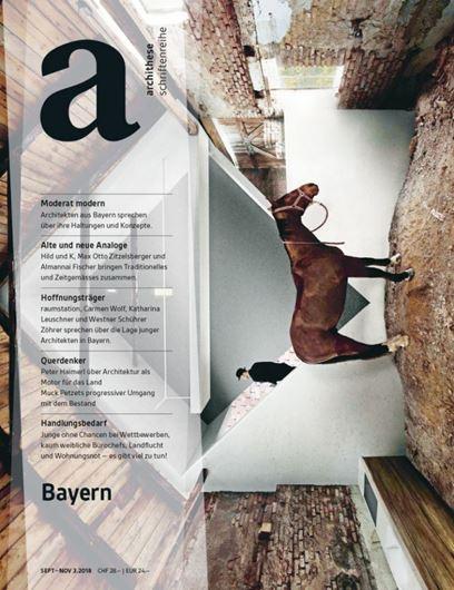 Archithese 3/2018: Bayern