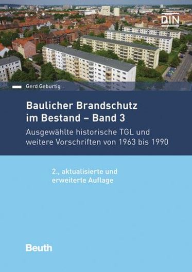 Baulicher Brandschutz im Bestand - Band 3