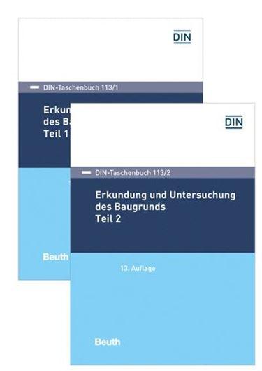 DIN-Taschenbuch 113/1 und 113/2 Paket