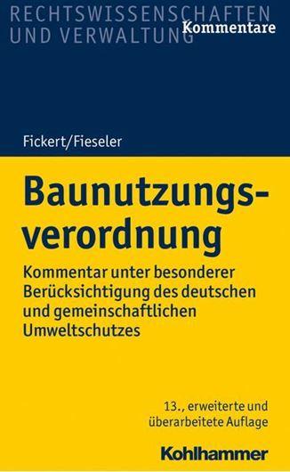Baunutzungsverordnung E-Book