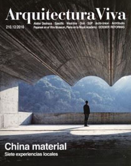 Arquitectura Viva 210: China material