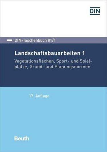 Landschaftsbauarbeiten 1 Bd. 81/1