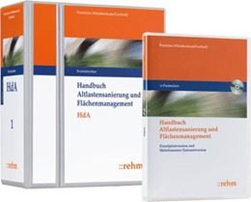 Handbuch Altlastensanierung und Flächenmanagement - Kombi Loseblatt + CD-ROM