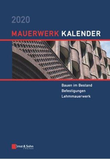 Mauerwerk-Kalender 2020.  - Fortsetzungsbezug