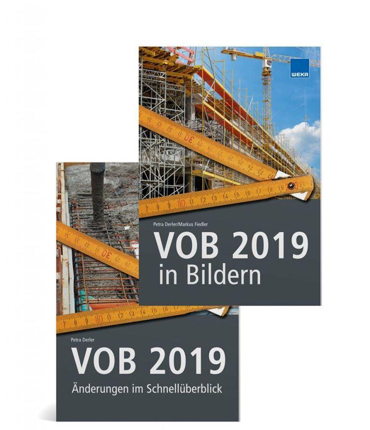 VOB 2019 in Bildern + VOB 2019 Änderungen im Schnellüberblick (2 Bände)