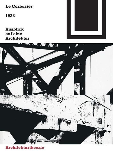 1922 - Ausblick auf eine Architektur